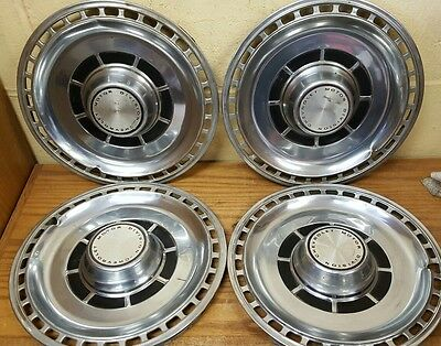 "1969 Chevelle 14 "" Standard Wheel Covers Hubcaps - Set of 4"