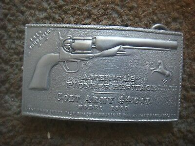 AMERICA'S FRONTIER HERITAGE - COLT ARMY 44 cal Model 1860 Belt Buckle