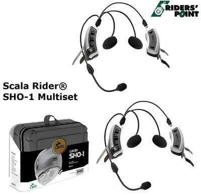 Cardo Scala Rider SHO-1 Duo Kit Multiple 2 Dispositif Kommunikations Système