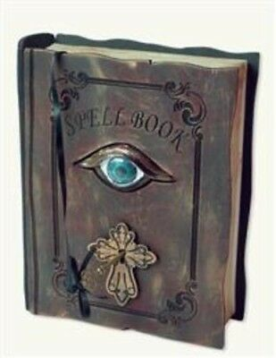 Victorian Trading Co Animated Trembling Spellbook Halloween Witch Spells New