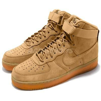 timeless design 51698 fee1a Nike Air Force 1 High 07 LV8 WB Flax Wheat AF1 Classic Mens Shoes 882096-