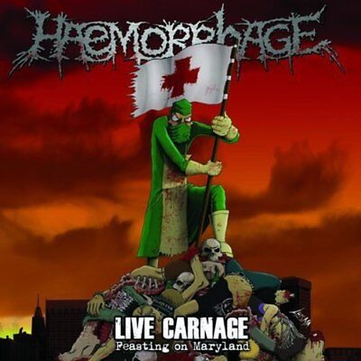 Haemorrhage 'Live Carnage - Feasting On Maryland' Vinyl - NEW