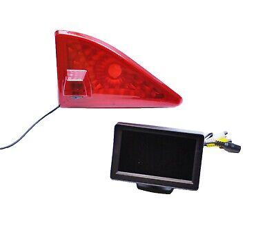 "Renault Master Van 2010 Onwards Reversing Brake Light Camera + 4.3"" LCD Monitor"