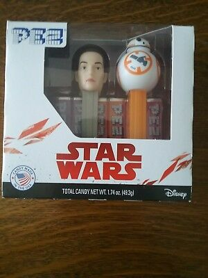 Star Wars Pez Dispensers Rey and BB8