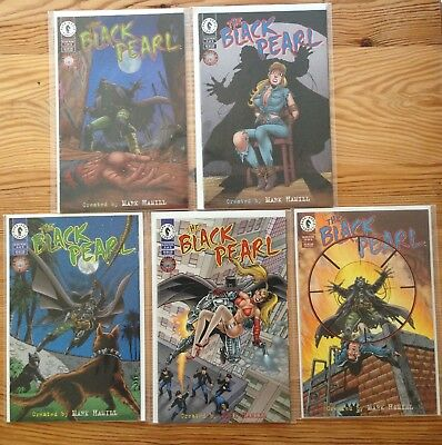 The Black Pearl by Mark Hamill 1-5 (complete set)
