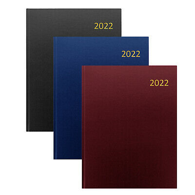 Collins Essential 2020 Desk Diary Planner | Choose Size Colour & Layout