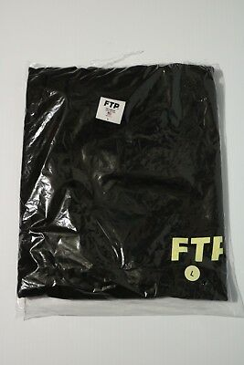 Brand New Ftp F ck The Population Logo Long Sleeve Size L Large Black Shirt c5512431be32