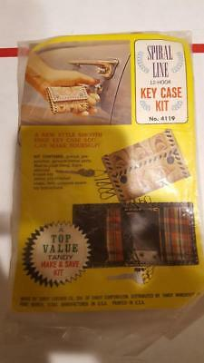 Tandy Leather 6-Hook Key Case Kit NEW IN PACKAGE