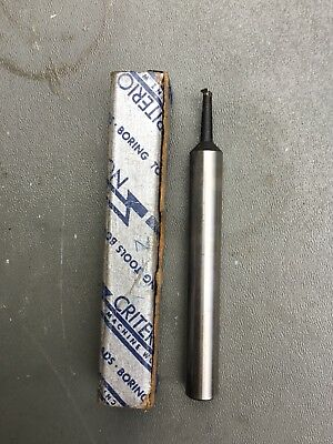 """Criterion Z-83 Extra Long  Boring Tool Bar 4-1/2"""" Length Used"""