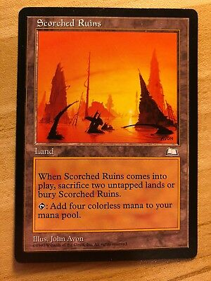 1 PLAYED Inner Sanctum White Weatherlight Mtg Magic Rare 1x x1