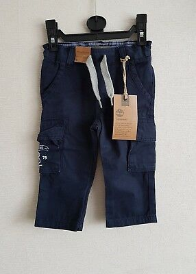Gorgeous Timberland tracksuit bottoms, cargo bottoms, pants, 9 months. BNWT