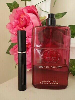 a4fc6e4ff GUCCI GUILTY Absolute Pour Femme Edp 6ml travel sample gold atomiser ...