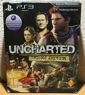 Uncharted : Trilogy Edition // Playstation 3 (PS3) // Completo - Versión PAL ESP