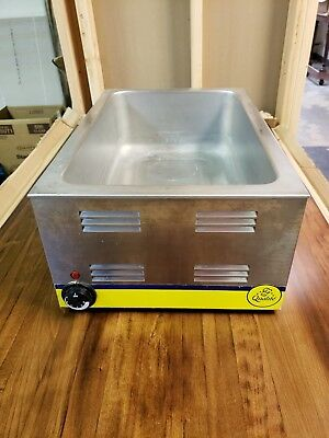 Adcraft FW-1200W Portable Steam Table Food Warmer Stainless Steel