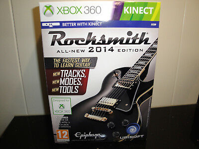 Rocksmith 2014 Edition - Includes Real Tone cable Xbox 360 by Ubisoft - Boxed