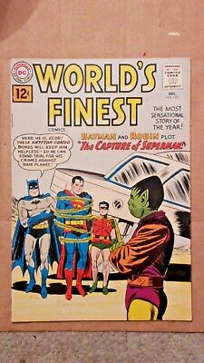 World's Finest 122 1961 (F/VF) THE CAPTURE OF SUPERMAN