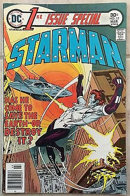 STARMAN #12  DC Comic 1st Special Issue  MAR 1976