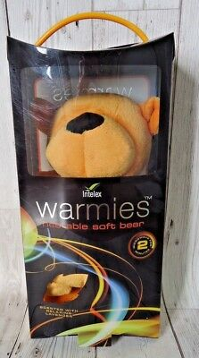 Warmies Intelex Soft Bear Microwavable Lavender Scented Cuddle Warm Plush (BM5)