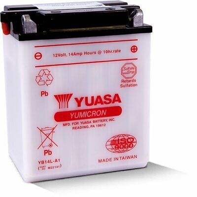 Yuasa Conventional High Performance Lead-Acid 12V 14Ah Battery 168Wh