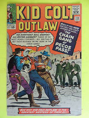 Kid Colt Outlaw #118 (Sep 1964, Marvel) F/VF? Free Shipping COMICS