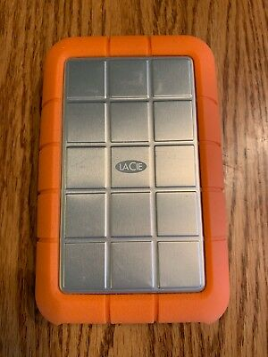 LaCie Rugged SB 3.0 / Firewire 800 1TB Portable Hard Drive - w/Cable!