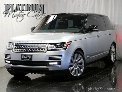 2015 Land Rover Range Rover 4WD 4dr Supercharged LWB Long Wheel Base - SC - Vision Assist - 4 Zone Climate - Original MSRP $121,780