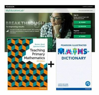 NEW Value Pack Teaching Primary Mathematics + Myeducation Lab with Etext + Pears