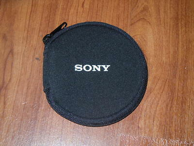 New OEM Genuine Sony Soft Carrying Case 14 Disk Mini DVD case