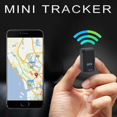 Mini Car Vehicle GSM GPRS Spy GPS Tracker Tracking GF07 Magnetic Locator Device