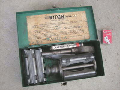 """Vintage 'THE RITCH CYLINDER HONE' Model A12, Bores 2.2 - 4.5""""- Engine, Australia"""