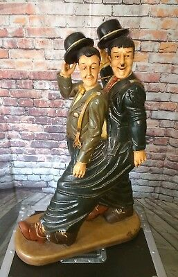 """Laurel and Hardy 29"""" Resin Statue"""