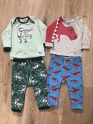 Baby Boys Peter Alexander Pyjamas, Size 1, Excellent Used Condition