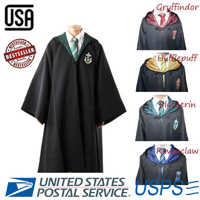 Wizarding Hogwarts Houses Gryffindor Hufflepuff Ravenclaw Slytherin Magic Cloack