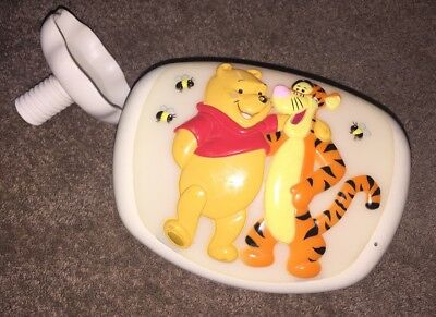 Vintage~1997~Winnie the Pooh/Tigger NightLight by Dolly~with Crib Mount