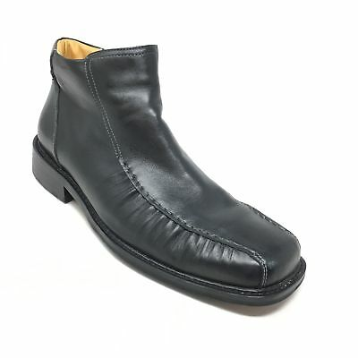 ddeb2ffee68 STEVE MADDEN LOBERT Leather Pull On Ankle Boots, Men's Size 7.5 M ...