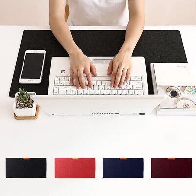 Uk_ Large Anti-Slip Felt Gaming Mouse Pad Office Desk Laptop Keyboard Mat Mousep