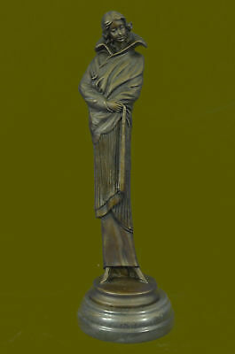 Jean Patoue Bronce Escultura High Society Woman Figura Estatua Original Art T