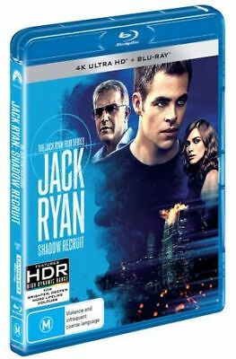 Jack Ryan - Shadow Recruit (4K Ultra HD/Blu-ray, 2018) (Region B) New Release