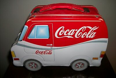 Coca-Cola delivery truck lunchbox tin