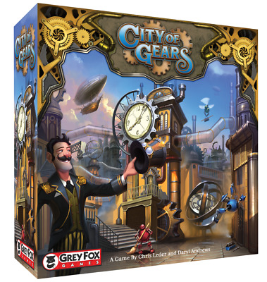 City of Gears: Founder's Edition - Kickstarter Board Game & Juggernaut Expansion