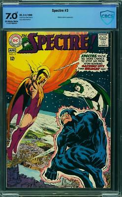 Spectre 3 CBCS 7.0 -- 1968 -- Neal Adams cover and art.  Wildcat cover