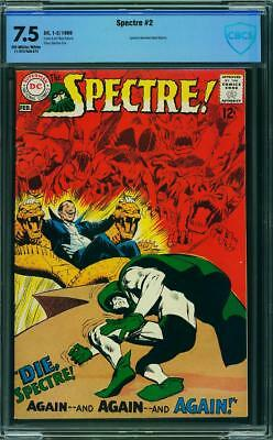 Spectre 2 CBCS 7.5 -- 1968 -- Neal Adams cover and art.