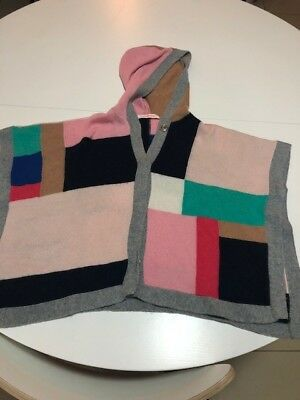 COUNTRY ROAD girls woollen cape / poncho - size S