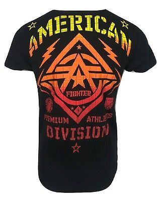 AMERICAN FIGHTER Mens T-Shirt NEW MEX Premium Athletic Biker MMA Gym UFC$40