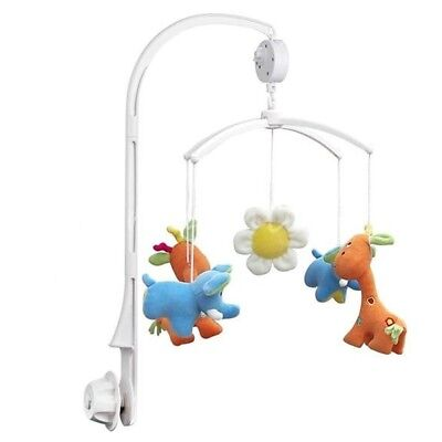 Movement Bed Toy Clockwork Crib Bed Toys Baby Toys Kid Bell Crib Music Box