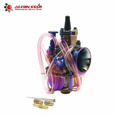PWK 34mm Motorcycle Carburetor With power jet Fit Racing 125cc to 250cc engine
