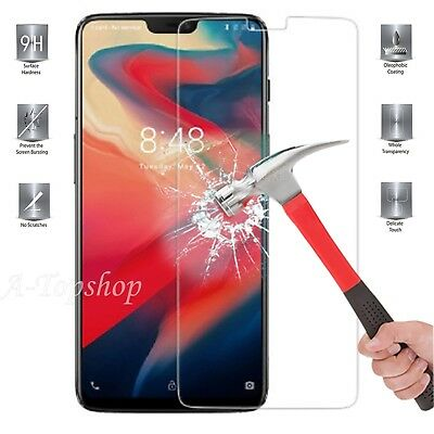 Tempered Glass Clean Screen Protector for OnePlus 6 Mobile Phone