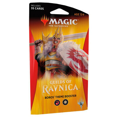 Guilds of Ravnica - Theme Booster - Boros - NEW!!