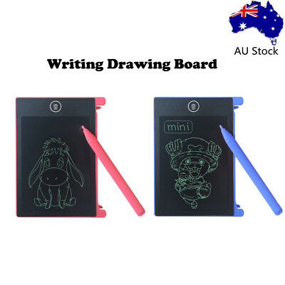 Portable 4.4inch LCD Writing Drawing Board Tablet Pad Writing with Stylus E7AC