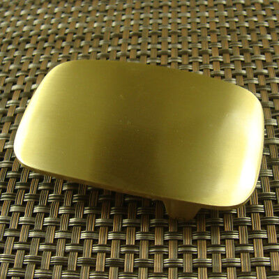 "Heavy Duty Solid Brass Belt Buckle Men's Belt Buckles for 1.5"" / 38mm Belt"